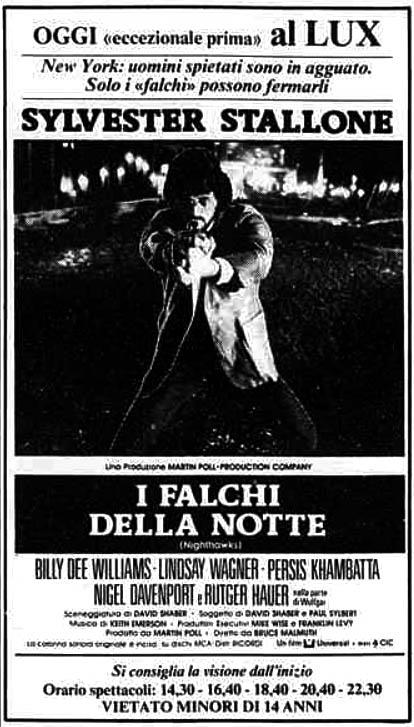 I falchi della notte [1981-04-18]