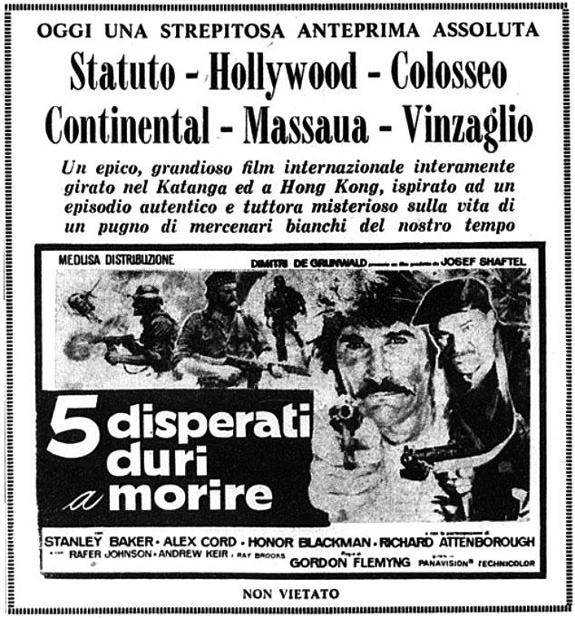 5 disperati duri a morire (1970)