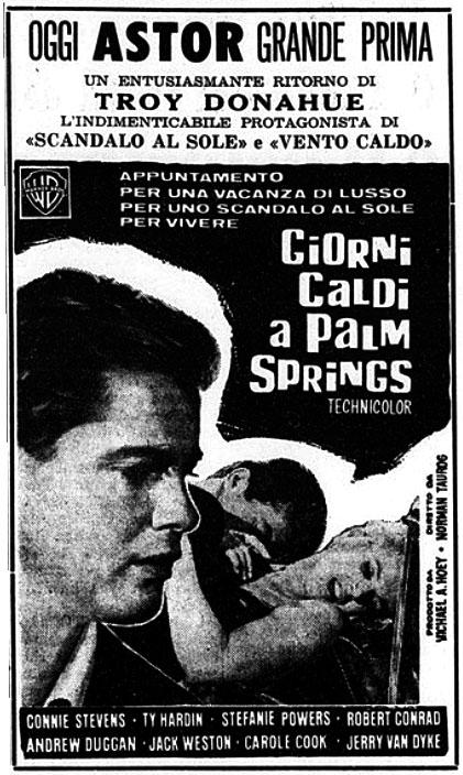 Giorni caldi a Palm Springs (1963)