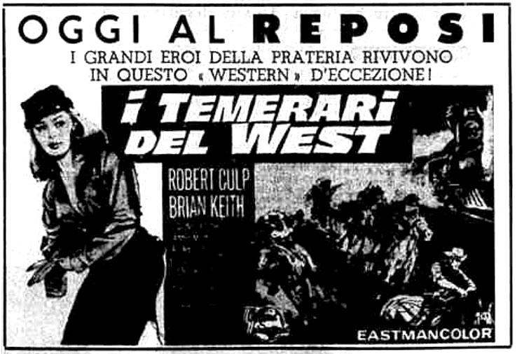 I temerari del West (1963)
