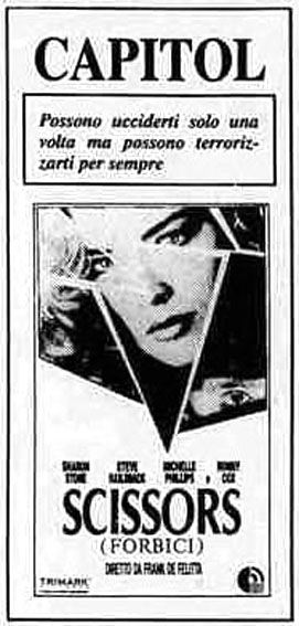 Scissors – Forbici (1991)